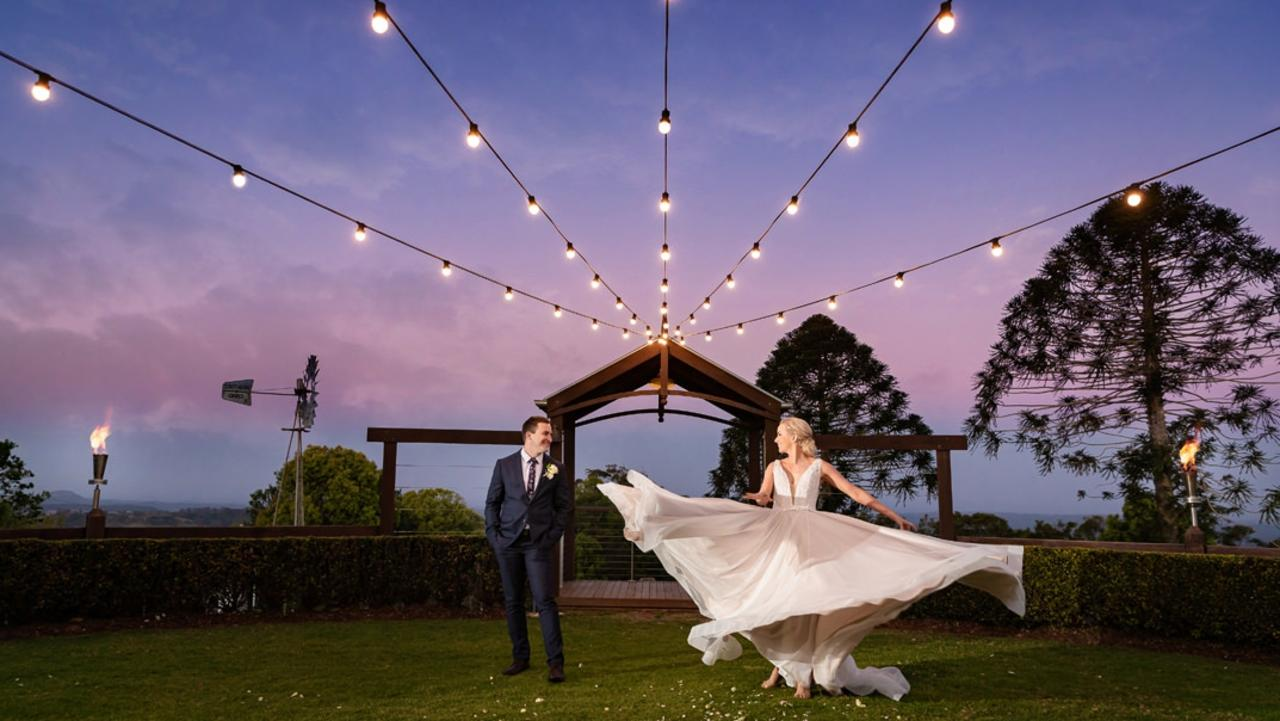 TOP PHOTOGRAPHER: Ben Connolly has been named the Sunshine Coast's top wedding photographer. Photo: Ben Connolly