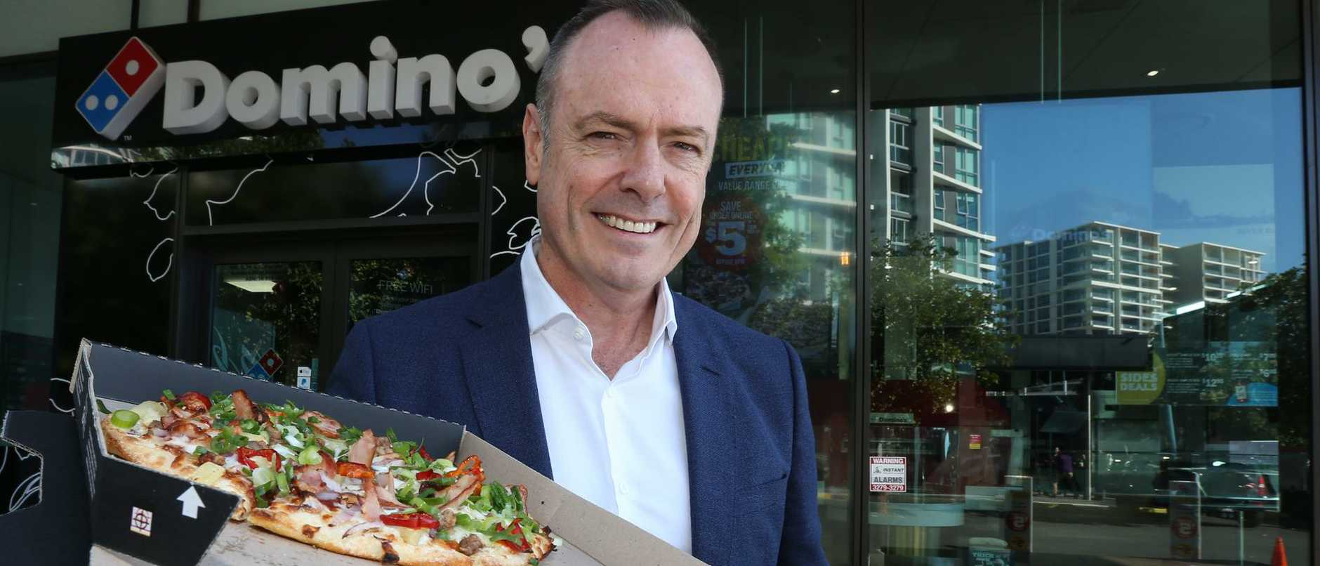 "Dominoes chief executive Don Meij told shareholders at the annual general meeting  the company was ""fortressing"" the business by opening more stores and maximising investment."