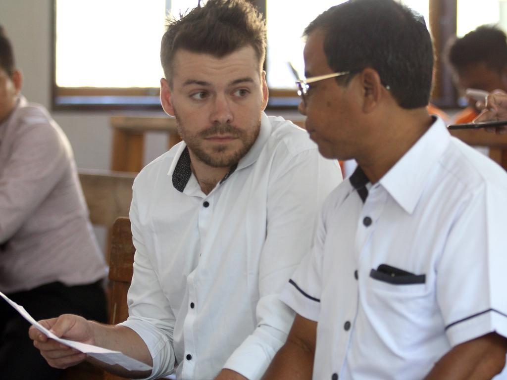 Australian Nicholas Carr is facing four months in jail. Picture: Lukman S. Bintoro