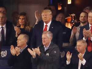 'Lock him up' chants rain down on Trump