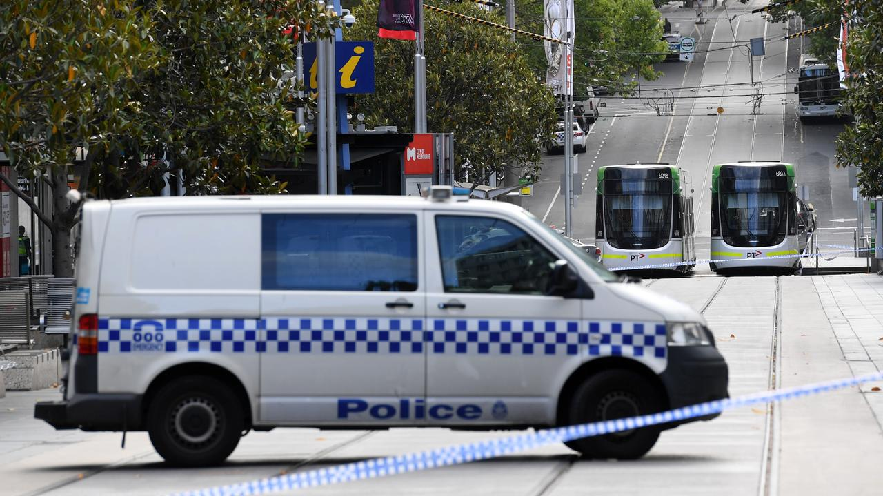 Shoot the offender, use roadblocks, ram the vehicle or box it in, Victoria Police has instructed its officers. Picture: Julian Smith/AAP
