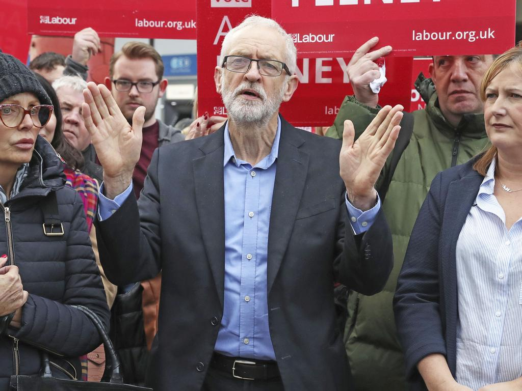 Labour leader Jeremy Corbyn. Picture: AP