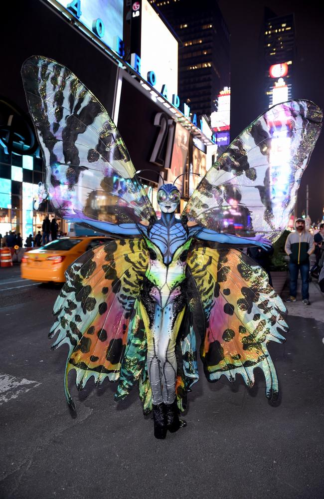 A Halloween twist on her Victoria's Secret days. Picture: Getty Images.
