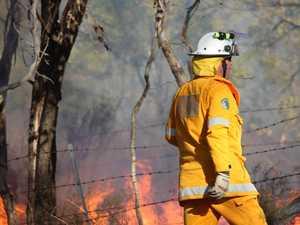 ADVICE: Crews to monitor Bungundarra blaze today