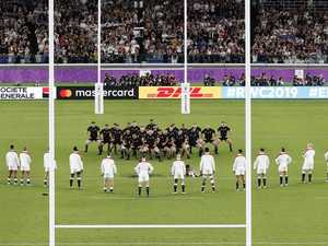 England faces penalty for haka drama