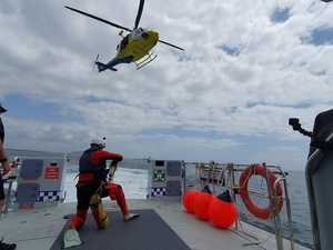 Rescue crew take to water for crucial training