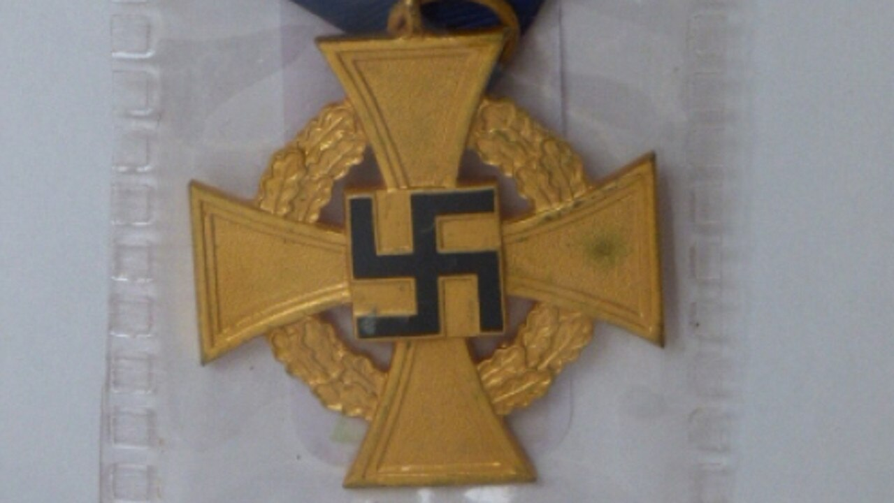 Armitage Auctions at Invermay have German Nazi memorabilia up for auction. Picture: SUPPLIED