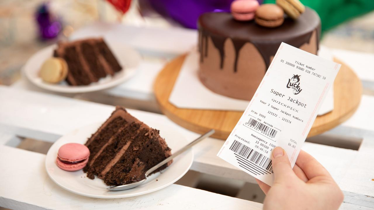WOW: A Kingaroy man surprised by his $100,000 Lotto win plans to spoil his family.