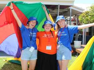 Students spent school holidays caring for others
