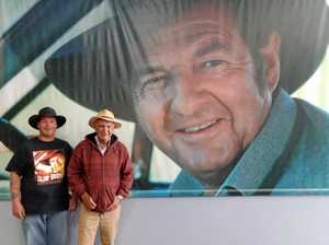 Birthday treat for Slim Dusty's No.1 fan