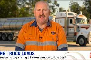 CONVOY CALLOUT: Mike Williams on  Sunrise  shares his pledge to help drought-stricken farmers.
