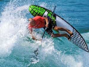 Waveski Surfing Australian Open ends with a bang in Yamba