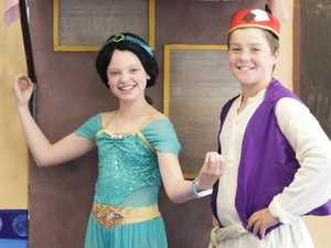 Matthew Flinders students recreate Aladdin magic