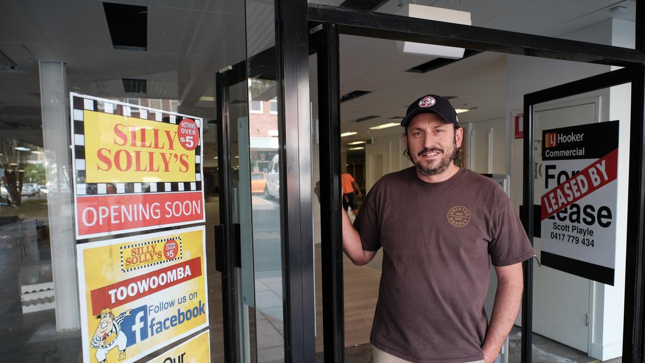 Dean Davis is opening a Silly Solly's in Toowoomba's CBD.