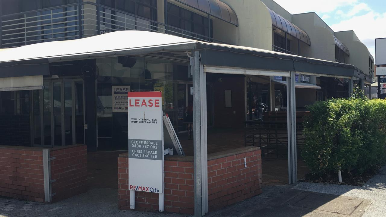 The former Coffee Club premises at Paddington has been vacant for more than two years. Picture: Darren Cartwright