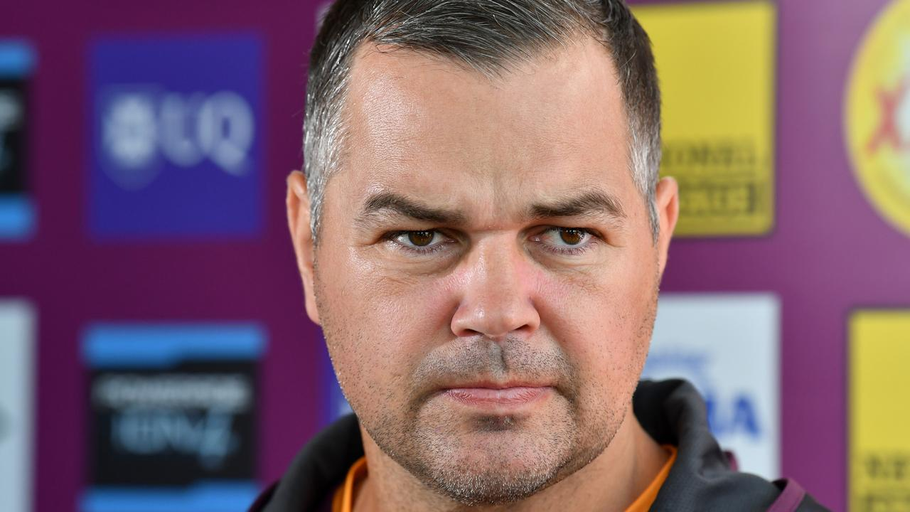 Anthony Seibold has the chance to make a mark on his closest rivals. Photo: AAP Image/Darren England