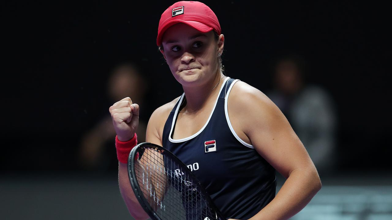 Ash Barty is set to finish the season with the No. 1 ranking. Picture: Getty Images