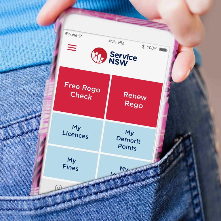 You can now access your NSW driver's licence through an app on your phone.