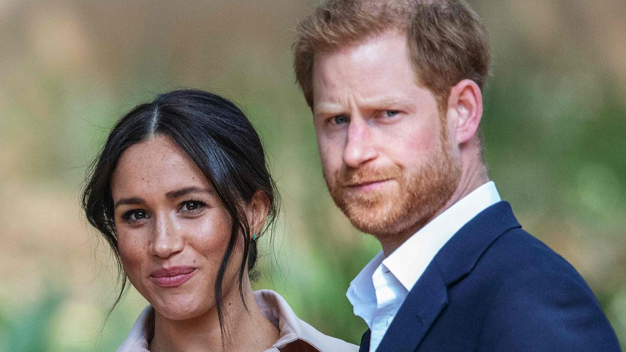 Prince Harry, Duke of Sussex and Meghan, the Duchess of Sussex arrive at the British High Commissioner residency in Johannesburg. Picture: Michele Spatari/AFP