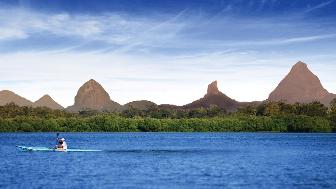 Some indigenous elders are calling for the Glasshouse Mountains on the Sunshine Coast to be closed to climbers.