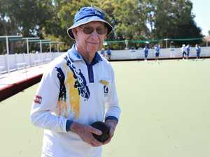 Bowling down his 100th year on Earth