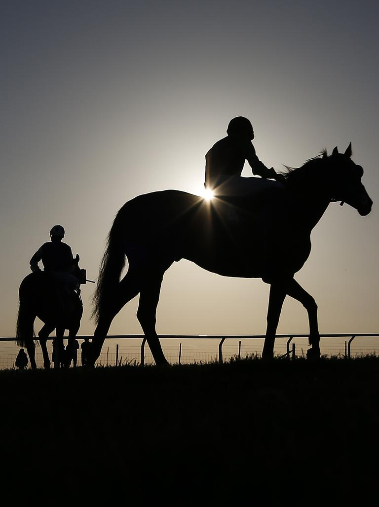 """Infallible"" betting systems were a feature of racetrack scams. Picture: Getty"