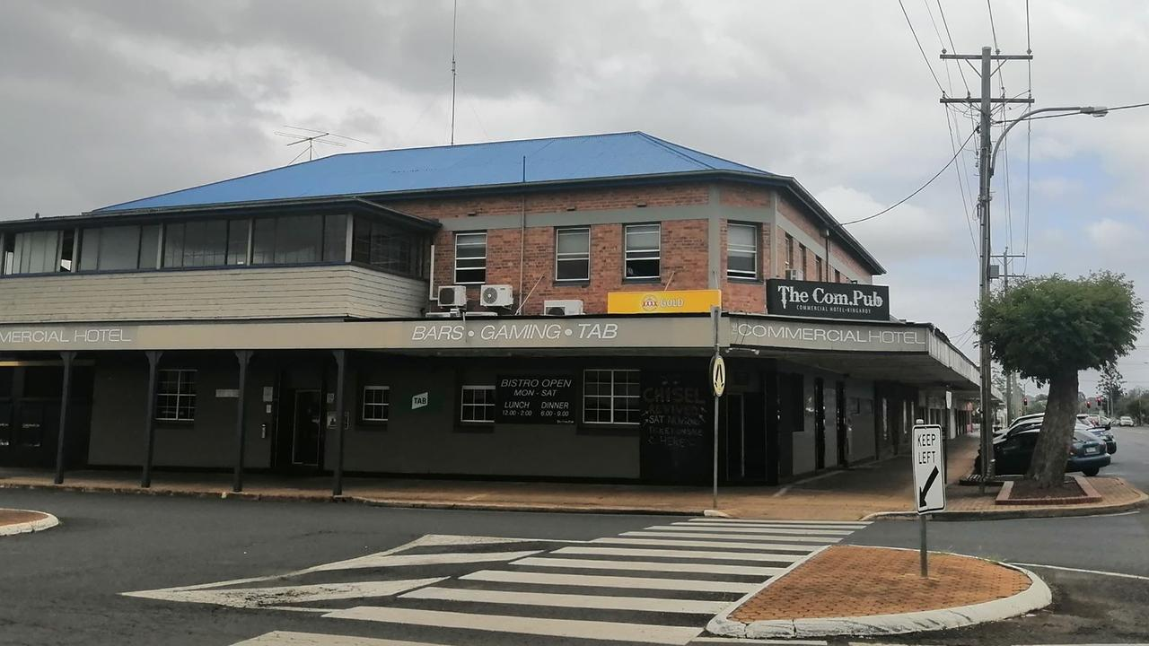 CHARGED: A South Burnett man stole police car keys when officers responded to a brawl outside Kingaroy's Commercial Hotel.