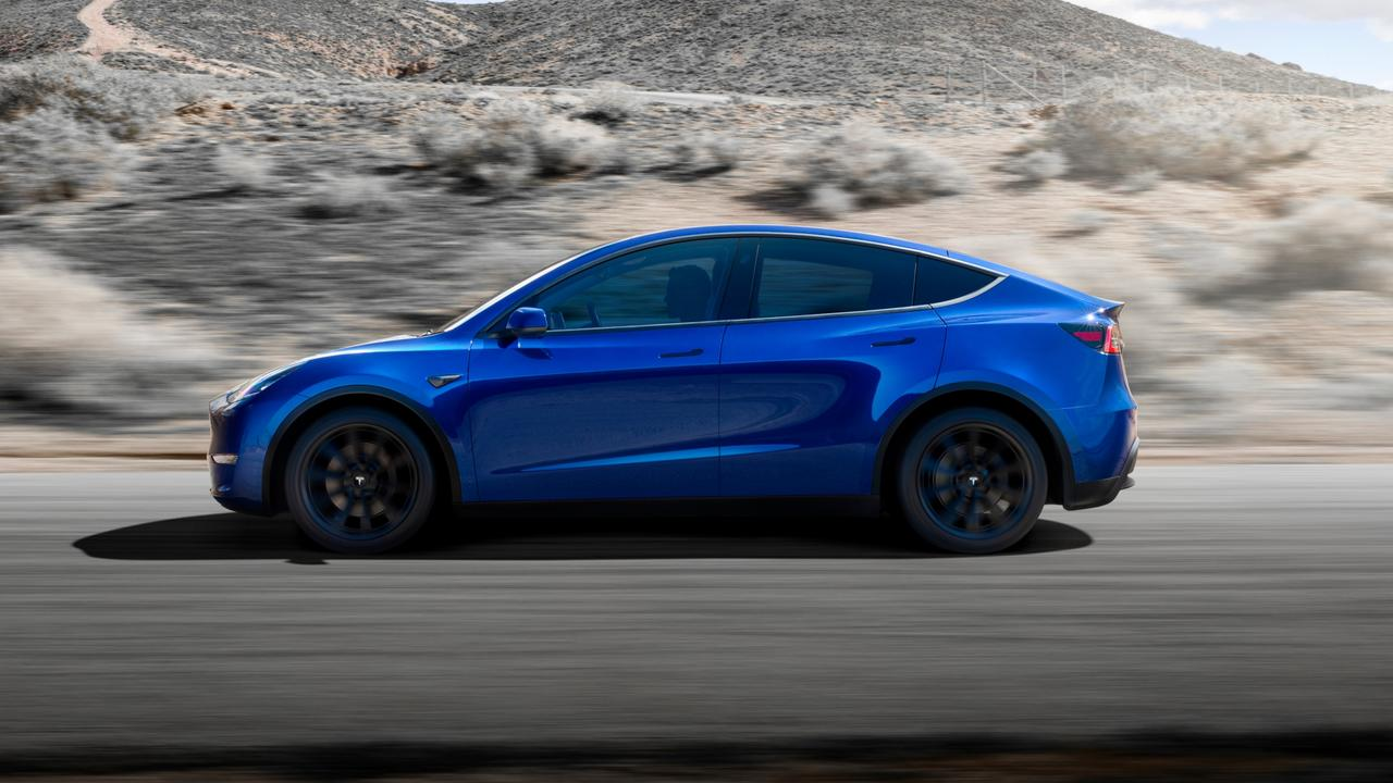 Lutz slammed the Model Y's 'humpback' profile.