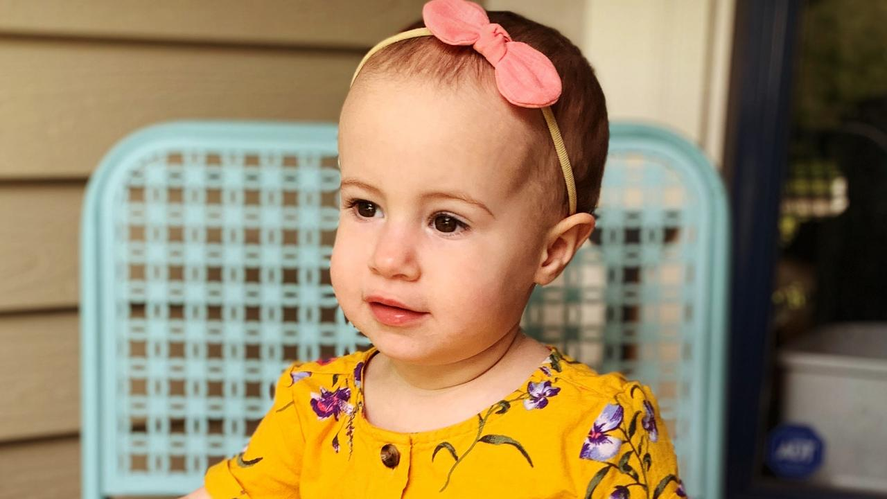 Toddler Chloe Wiegand fell to her death from a window on Royal Caribbean cruise ship Freedom of the Seas. Picture: Attorney Michael Winkleman