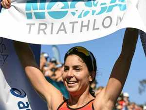 Gentle is chasing magic Noosa Tri win number seven