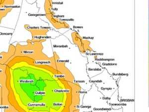 Let it pour: Areas of Central QLD could grab up to 100mm