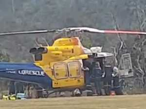 Massive air and sea rescue missions for Mackay choppers