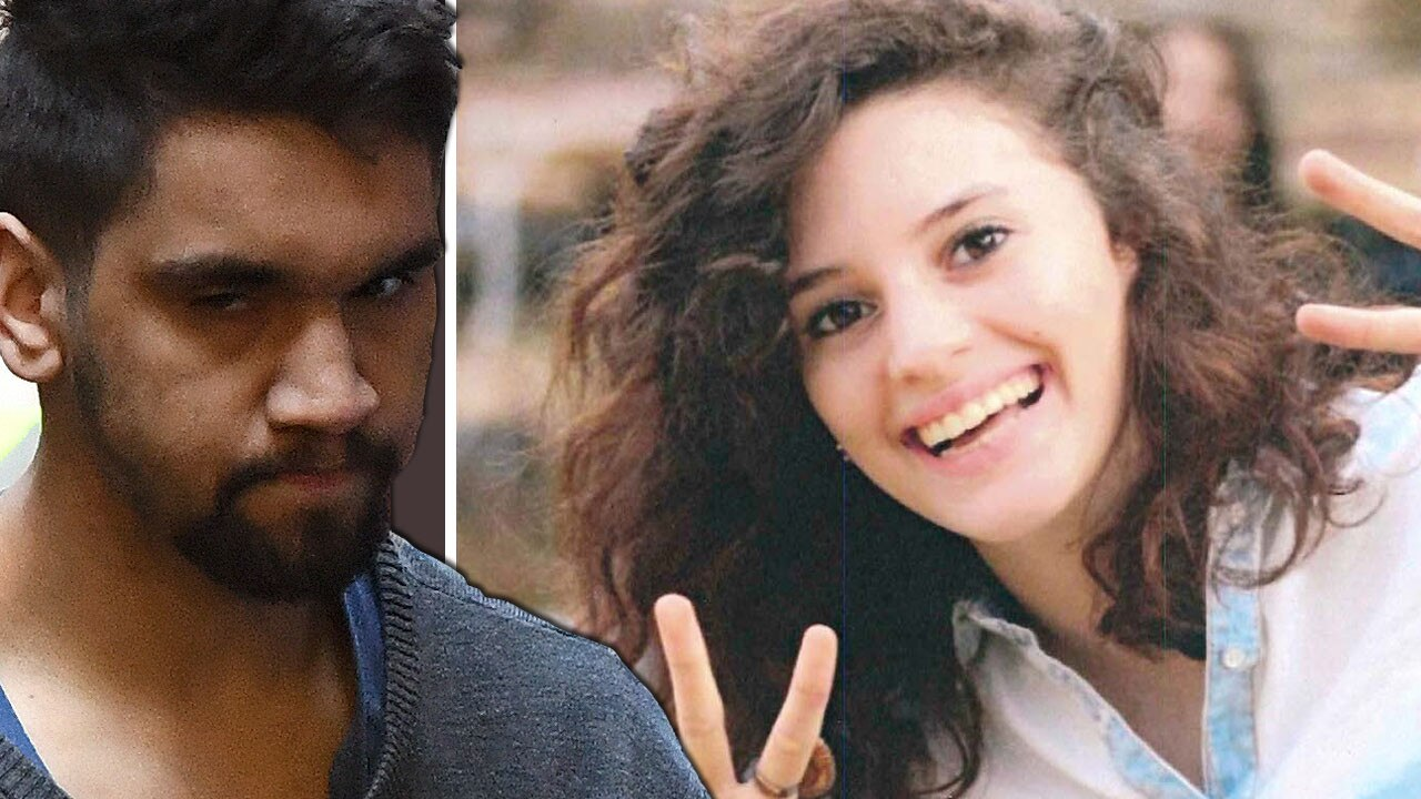 Codey Herrmann has been jailed for the rape and murder of international student Aiia Massarwe.