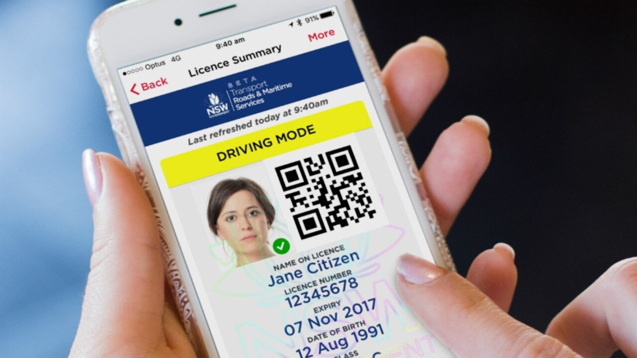 NSW residents can now get a digital copy of their driver's licence on their phone.