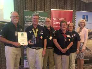 Scouts awarded for leading kids through darkness