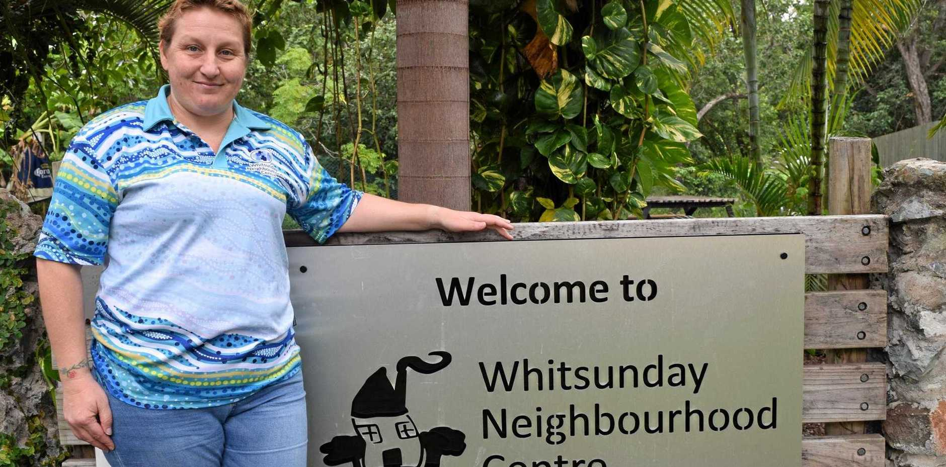 CRISIS: Whitsunday Neighbourhood Centre executive officer Rebecca Woods says homelessness is here in the Whitsundays.
