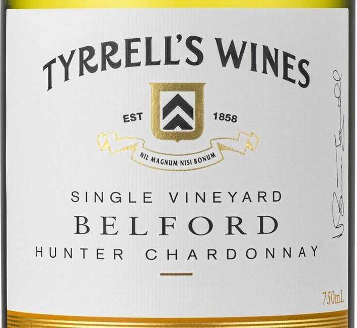 Tyrrell's, Belford Single Vineyard, Hunter Valley, 2017
