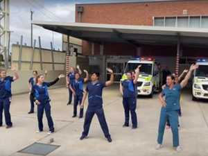 Bundaberg Hospital goes viral in online challenge