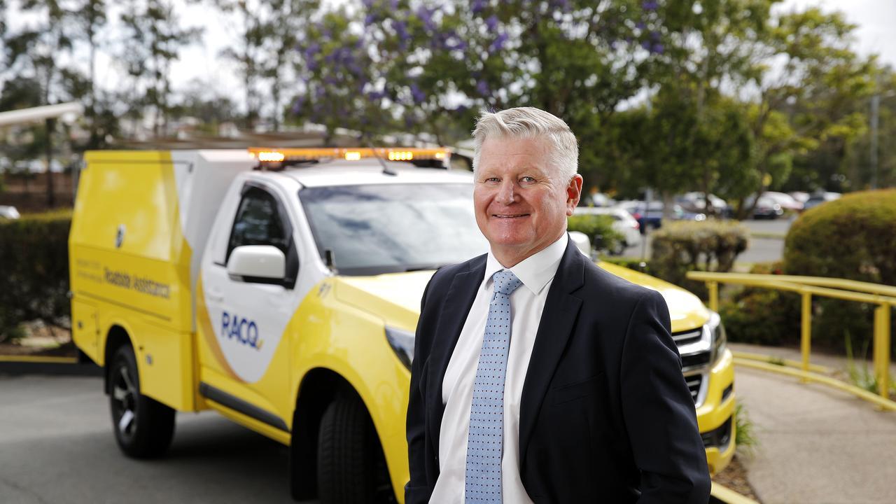 Outgoing RACQ CEO Ian Gillespie.