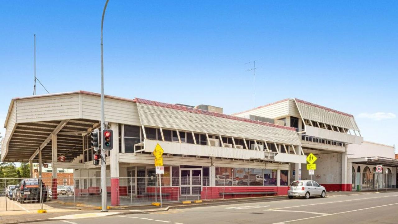 FOR SALE: The McCafferty's coach terminal in the Toowoomba CBD has hit the market again.