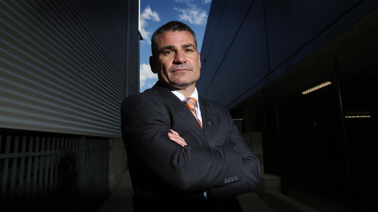 ASADA boss David Sharpe in Canberra. Picture: Gary Ramage