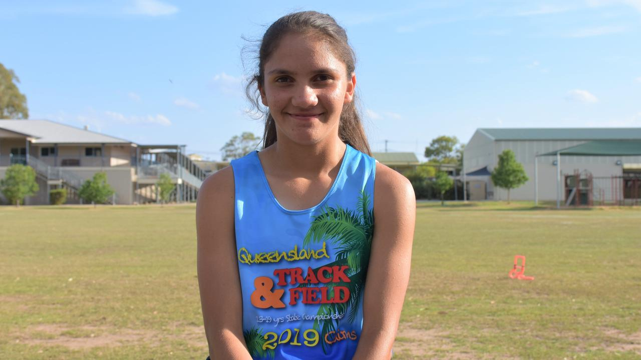 TRACK CHAMPION: Danika Murray is on her way to the National Finals after a PB breaking performance.