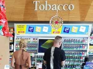 Tourist's 'shameful' servo bikini act blasted