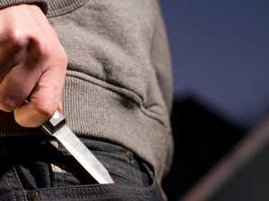 Boy allegedly threatens shop attendants with knife