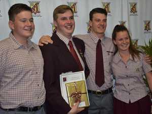 High school sports stars awarded