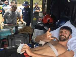 Shark attack survivors: 'We are grateful'