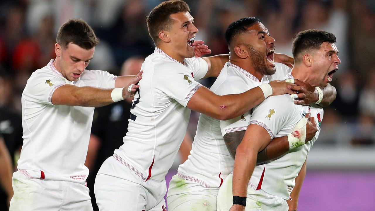 England are only win away from completing the 'Southern Slam' at the 2019 RWC.
