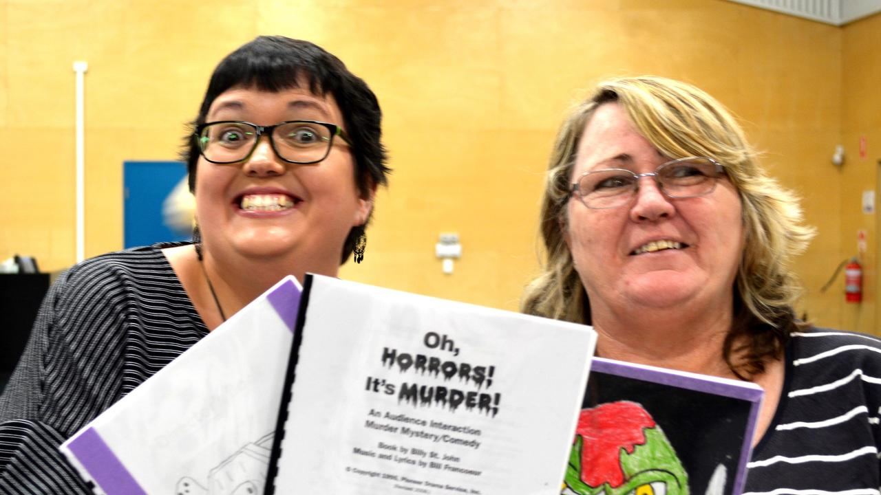 Gympie Theatre Association's latest production is a murder mystery called