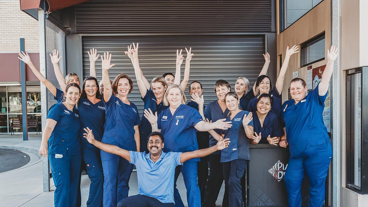 Gympie Hospital ED staff