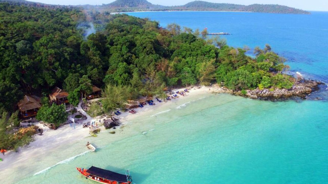 The island of Koh Rong in Cambodia has a dark history.